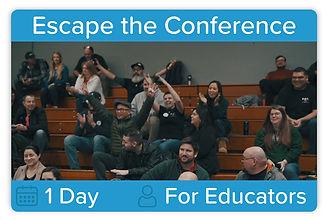 Escape the Conference