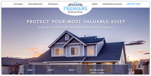 Premiere Roofs Website