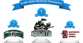 Congratulations to our SLED 2020 National Champions!