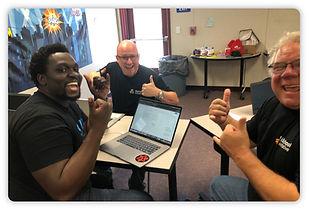 Educators Laughing