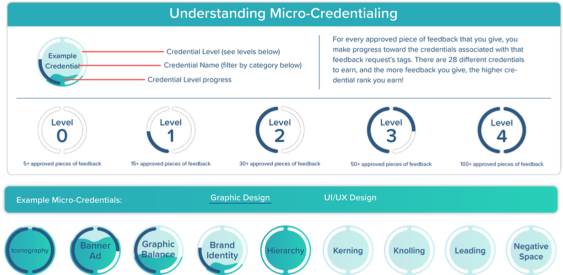 Micro-Credentialing Dashboard