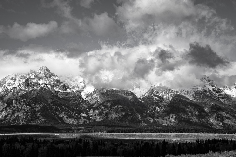 First Snow on the Tetons