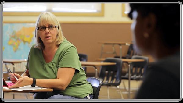 Educator Talking