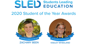 2020 National Student of the Year Award Recipients