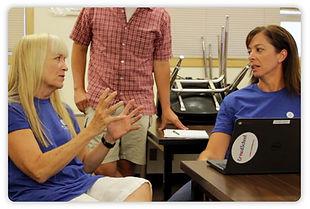 Educators Discussing