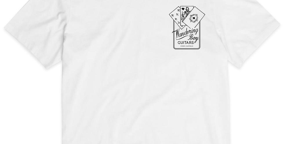 Card Logo T-shirt - white