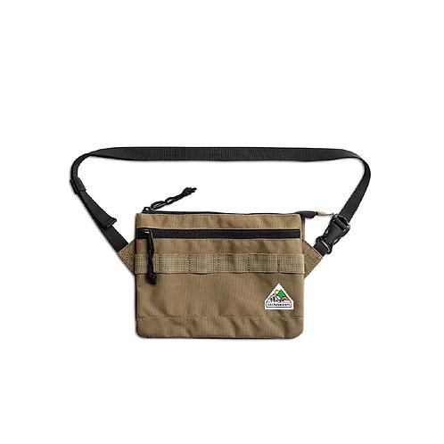 Filter017 CREALIVE DEPT. Mountain Peak Logo Sacoche Bag Double