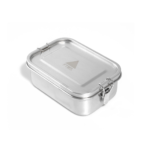 FTMD. LUNCH BOX Silver