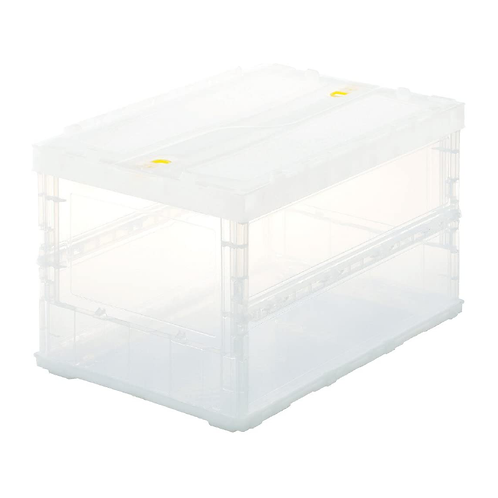 TRUSCO TR-50 Stacking Foldable Container