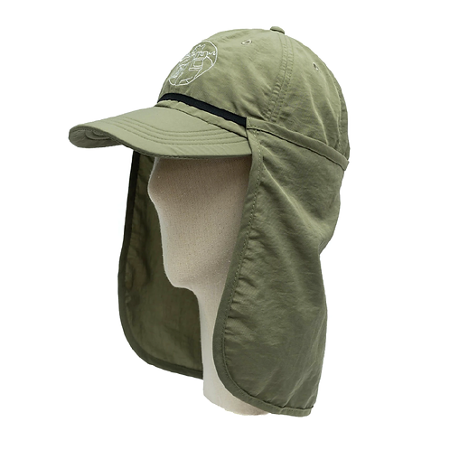 NYLON CAP + NECK PROTECT