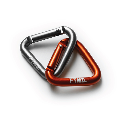 FTMD. CARABINER Orange & Silver
