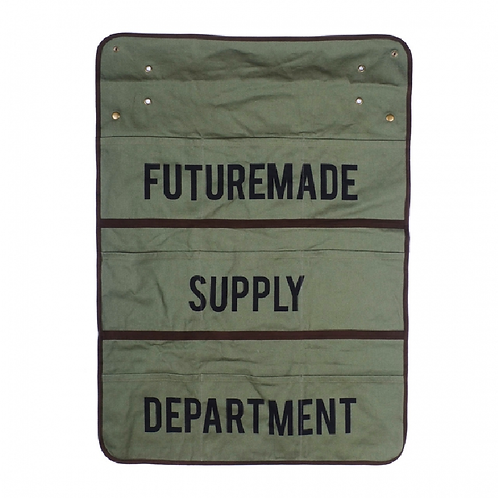 FTMD. Wall Storage Olive Green