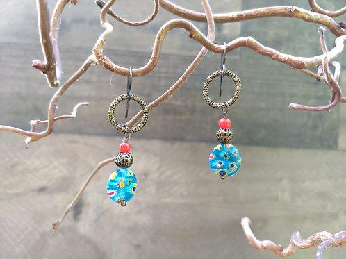 Tutti Frutti Bird Earrings