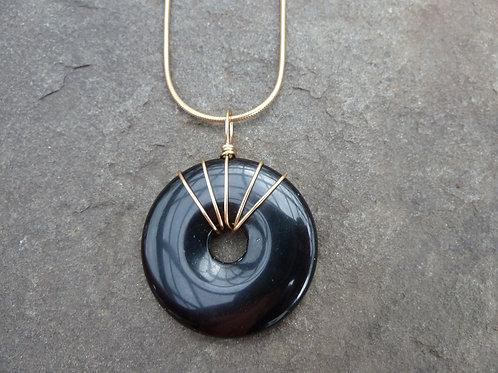 Blackstone Donut Brass Wrap