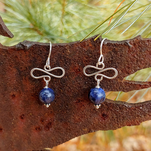 Betsy Sodalite Earrings