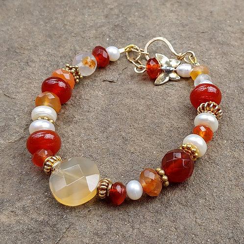 Asymmetrical Elegance Bracelet
