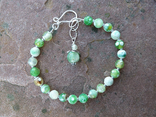 Green Agate Delicate Bracelet