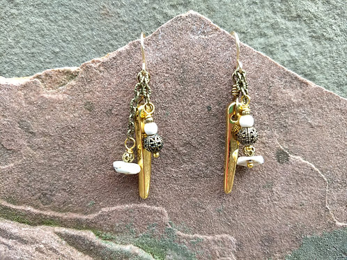 Spikes and Dangles Earrings