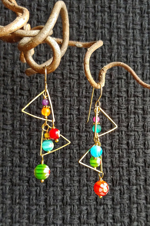 Sisters of Carnevale di Venezia Earrings
