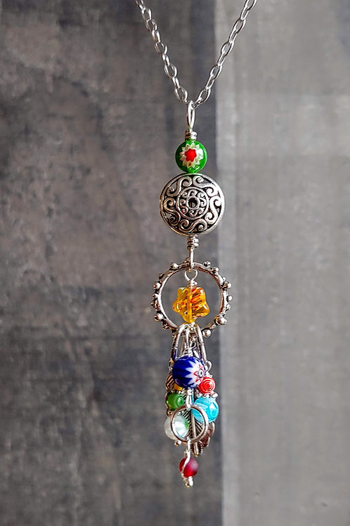 Happiness Carnevale Pendant