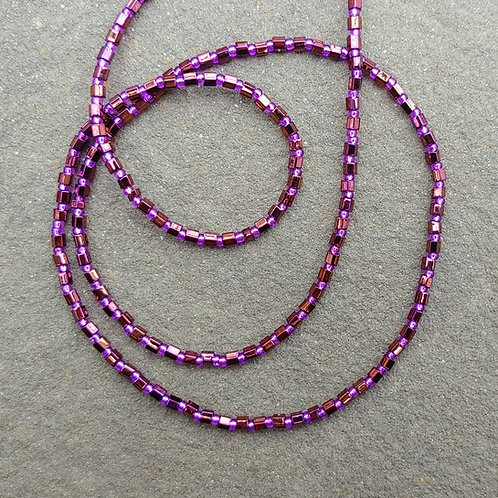 Hex Seed Bead Necklace