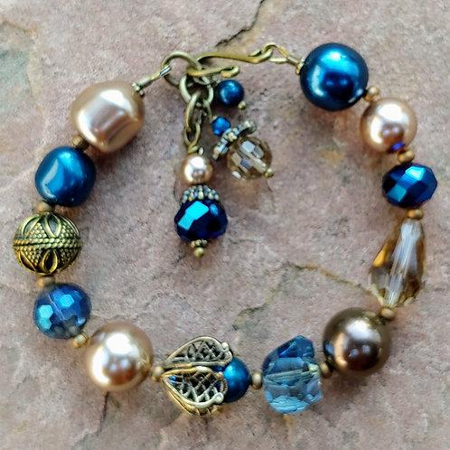 Vyntage Blues Deluxe Bracelet