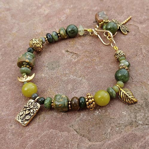 Nature Lover's Rhyolite Bracelet