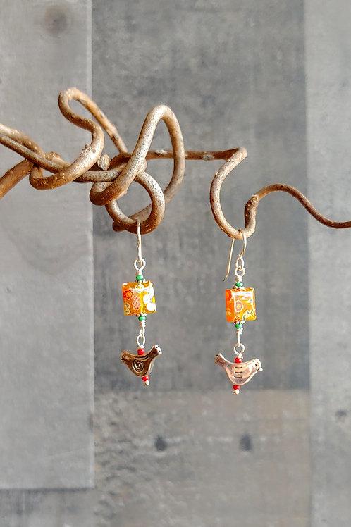Little Bird Carnevale Earrings