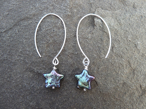 Peacock Stars Earrings