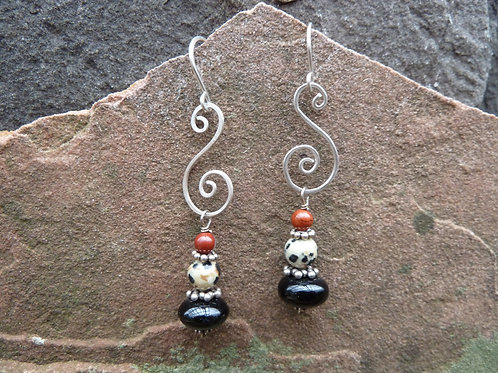 Japser Mix Earrings