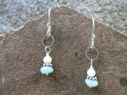 Dainty Amazonite Earrings