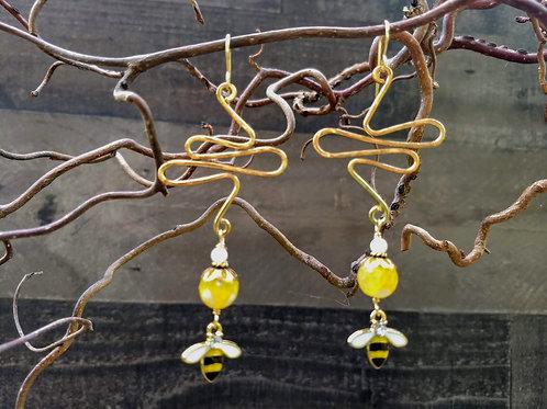 Bee Mine Earrings