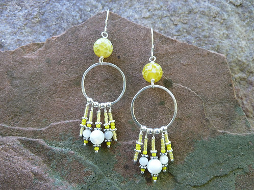 Yup--Yellow! Major Earrings
