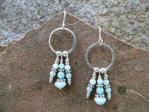 Amazonite Avalanche Earrings