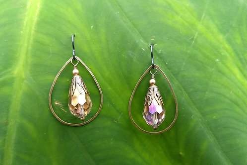 Vintage Tear Drops Earrings