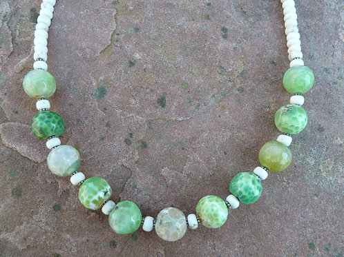 Fresh Greens, Anyone? Necklace