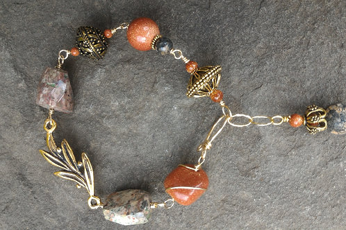 Goldstone Royalty Bracelet
