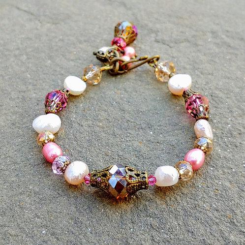 Pretty in Pink Vyntage Bracelet
