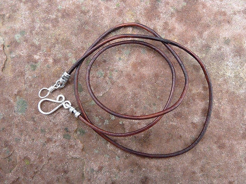 Cowboy Brown Leather Cord