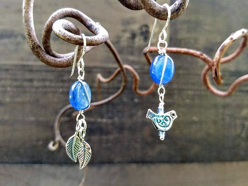 Sisters of Nature Kyanite Earrings