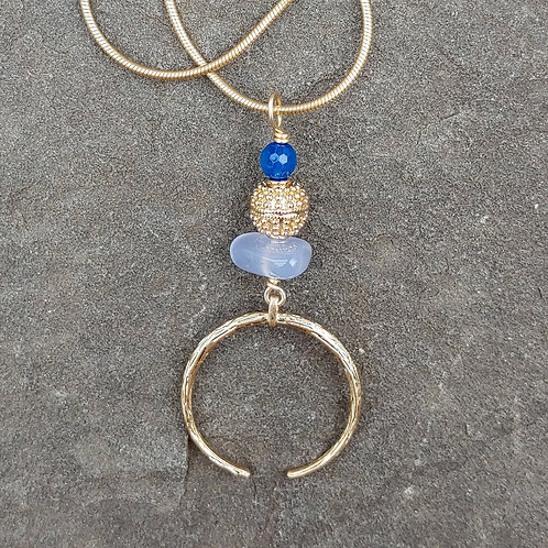 Blue Viking Pendant