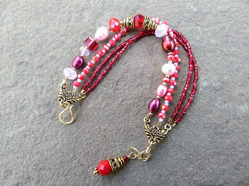 Valentine's Day 4-Strand Bracelet