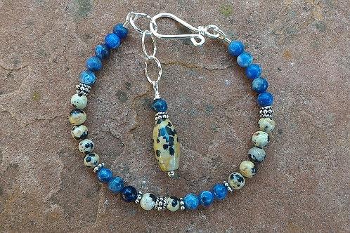Blue Earth Bracelet