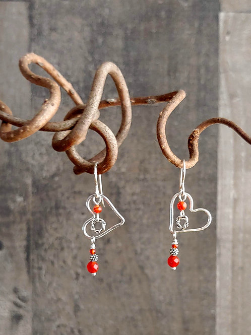 Hearts of Love Shorty Earrings