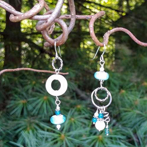 Crashing Waves Sister Earrings