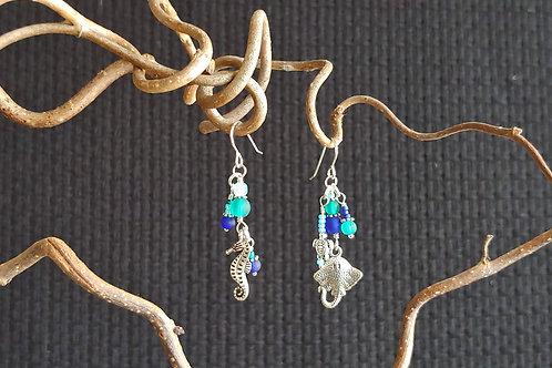 Sisters of Sea Breezes Earrings