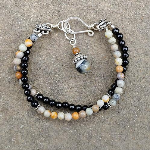 Earthtones Double Bracelet