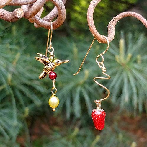Strawberry Sister Earrings