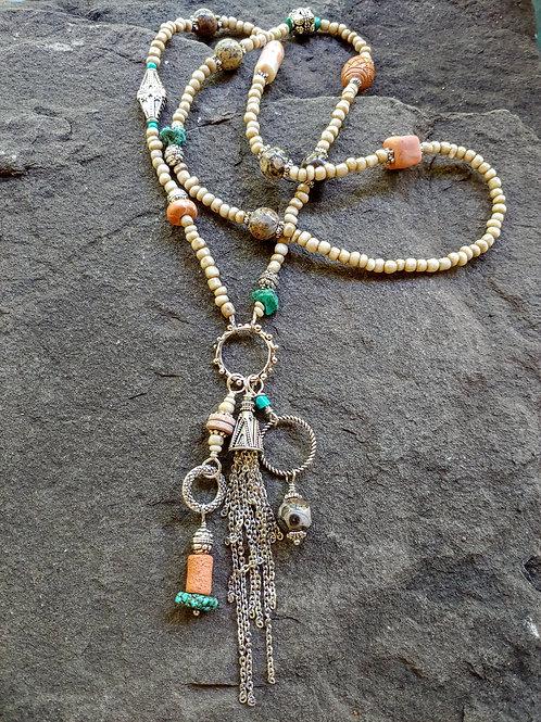 Funky Tassel Necklace