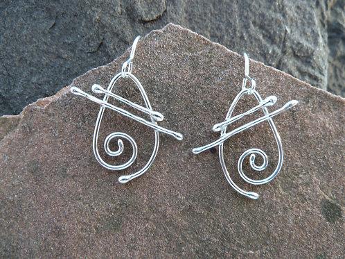 Greek Goddess Earrings, Medium